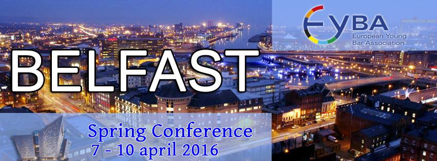 Eyba Spring Conference in Belfast (April 7-10). FULL BOOKED! Only available the Gala Dinner!Confirmed as keynote speaker: JERRY BUTING!
